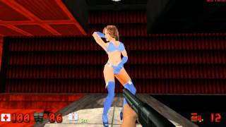 Duke Nukem 3D with HRP v5.1 - Madness at the Strip Club (Red Light District)