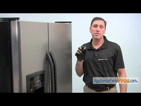 Refrigerator Light Bulb (part #WR02X12208) - How To Replace