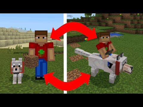 How to Upgrade Wolf in Minecraft !!!!! ( MInecraft Pe: Mutant Creatures Add-on)