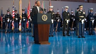 President Obama Delivers a Farewell Tribute to Secretary of Defense Chuck Hagel