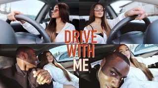 DRIVE WITH ME ♡ w/ my manz + addressing comments