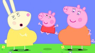 Peppa Pig Official Channel   Mummy Rabbit's Bump❤️ Come and Have a Look with Peppa Pig