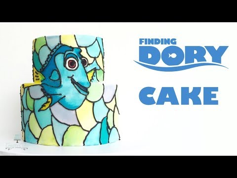 Finding Dory Cake | How to make from Creative Cakes by Sharon
