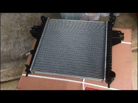 07 Jeep liberty radiator change out