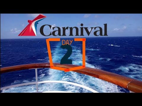 Carnival Fantasy Day 2 Day At Sea! Slides, And Shows!