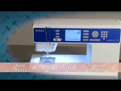 2018 Auction #BB1311: Pfaff Sewing Machine