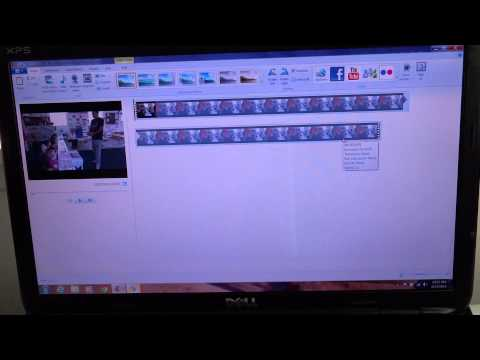 How to cut out parts within a clip on Windows Live Movie Maker