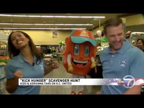 ABC7 Kick Hunger Campaign Kickoff