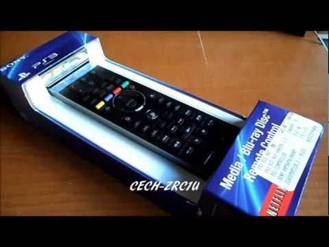 Sony PS3 Media/Blu-Ray Disc Remote Control (Unboxing/Sync/Review) (CECH-ZRC1U)