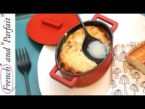 How to make French Onion Soup, Soupe à l'oignon Recipe