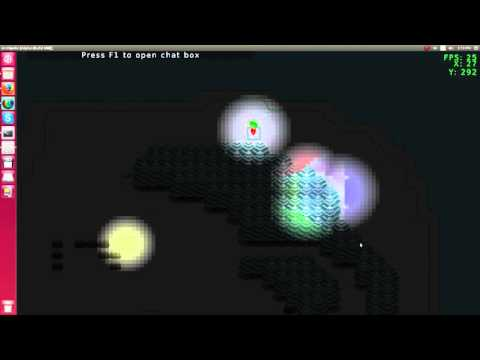 Archipelo DevLog #23: Ligthing and 'What's up?' (2D Java LibGDX MMORPG))
