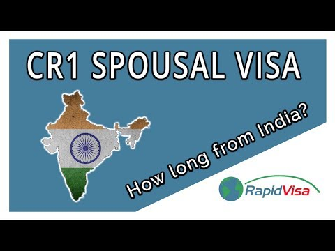 How Long is the CR1 Spousal Visa Process From India to the USA?