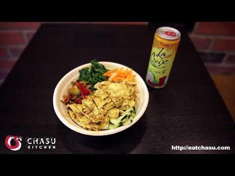 Satay Chicken Bowl at Chasu Kitchen