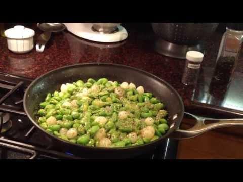 Fava Bean Dinner Scene