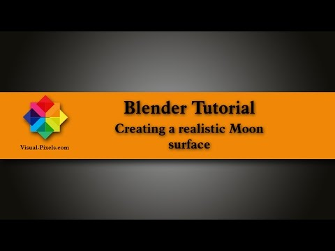 Blender Tutorial: Creating a realistic Moon surface
