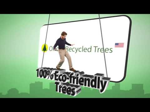 Oncor Recycled Trees