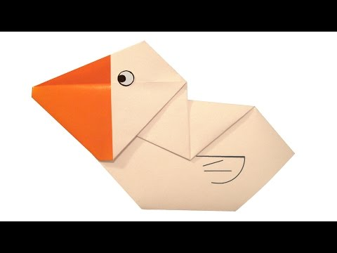 How To Make Origami Pelican