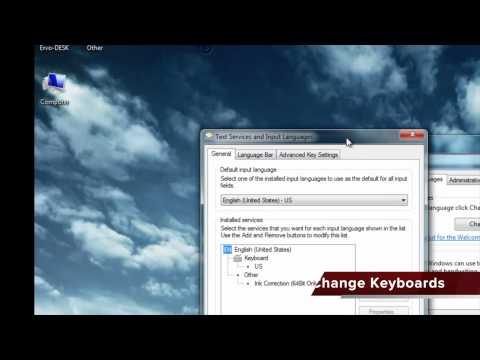 How to configure Macedonian keyboard on Windows 7