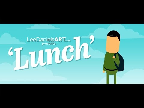 After Effects Animation | LUNCH