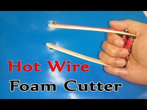 How To Make Handheld Hot Wire Foam Cutter ( Simple )