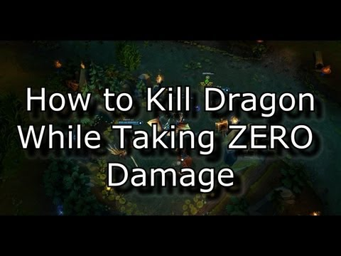 How to Kill Dragon While Taking ZERO Damage | League of Legends LoL Guide