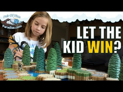 Should you let the kid win? | Board, Card & Tabletop Games | TABLEscraps #26