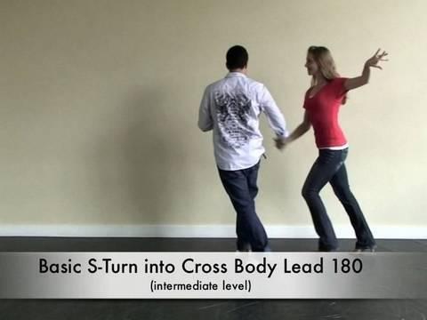 Salsa Dancing Lessons : Beginner S-Turn Moves