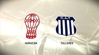 Fútbol en vivo. Huracán vs. Talleres. Fecha 14. Torneo de Primera División 2016/2017. FPT