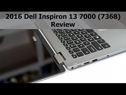 2016 Dell Inspiron 13 7000 (7368) Review