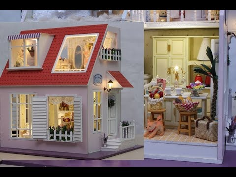 DIY Forever Cute Family Miniature Dollhouse Box with  Cats and Dogs Part2