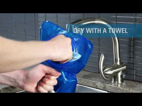 CamelBak Crux Cleaning Video for Reservoirs WITHOUT QuickLink