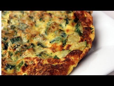 Zucchini Frittata Recipe - Laura Vitale - Laura in the Kitchen Episode 279