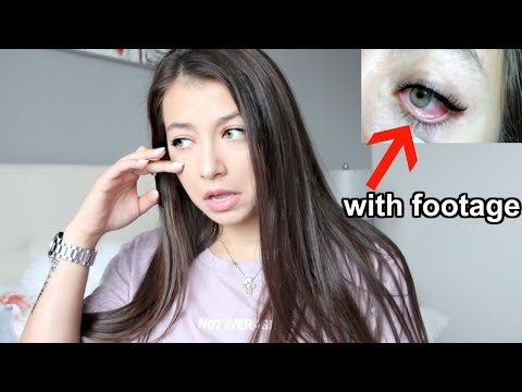 SCARY EYELASH EXTENSIONS STORY TIME! *NOT CLICKBAIT*
