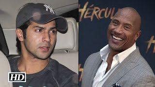 The Rock Wishes Varun Happy Birthday In Style - Take A Look