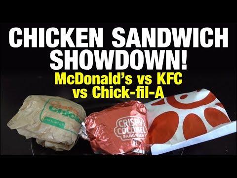 Review: KFC Crispy Colonel vs Chick-fil-A & McDonald's