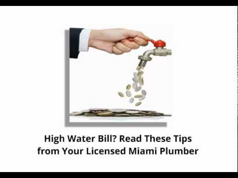 Miami Plumber Douglas Orr Shares Tips to Reduce Your Water Bill | (305) 888-0678