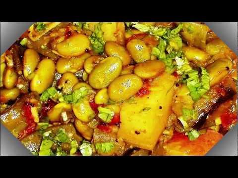ટેસ્ટી ચટાકેદાર ઉંધિયું ધરે બનાવવાની રીત   How to make Undhiyu at Home Gujarati style