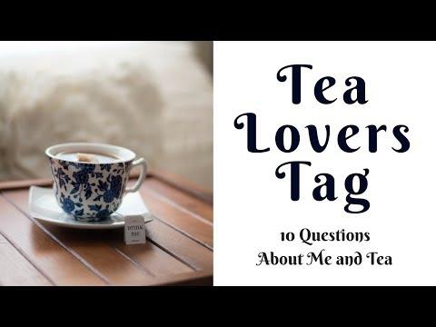 TEA LOVERS TAG // Freedom Acres