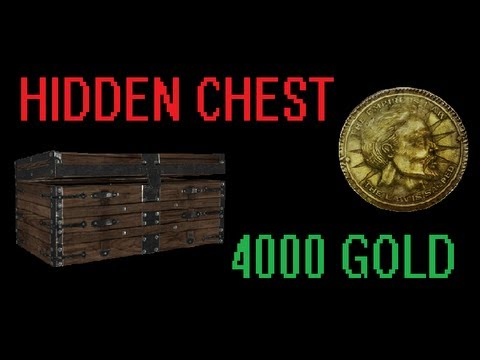 Skyrim: Hidden Chest Under House with 4000 Gold (PS3 + Xbox)