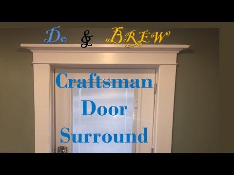 Craftsman Style Surround  - Entry Door