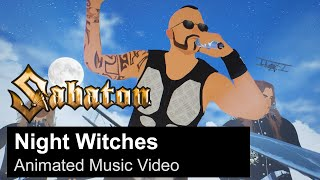 SABATON - Night Witches (Animated Music Video)