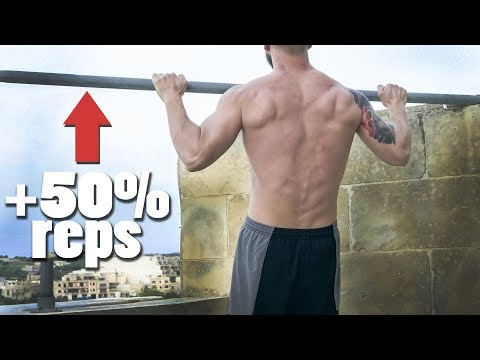 How I Increased my Pull Ups by Over 50% in 1 Month