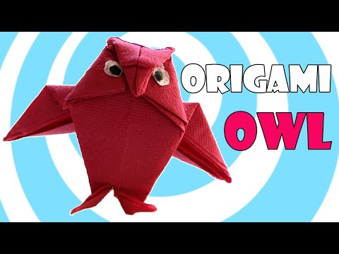 Easy Origami Owl Instructions