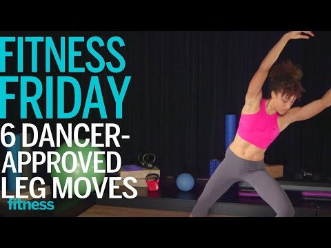 The 4 Minute Dancer Legs Workout   Fitness