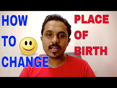 HOW TO CHANGE PLACE OF BIRTH IN PASSPORT? ALL INFORMATION!! (HINDI)