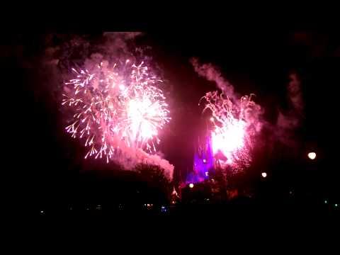 Walt Disney World - Wishes Nighttime Spectacular!