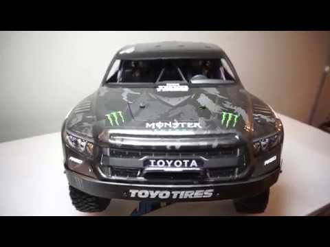 How to paint RC lexan body (the awesome way - BJ Baldwin Recoil4 Monster energy trophybtruck )?