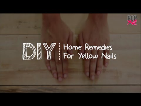 DIY: Home Remedies For Yellow Nails | White Nails Hacks - POPxo