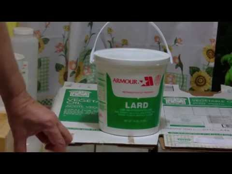Lye Soap and Lard In Soap-Making