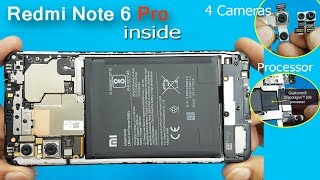 Xiaomi Redmi Note 6 Pro Disassembly || Redmi Note 6 Pro Teardown  / Redmi note 6 pro